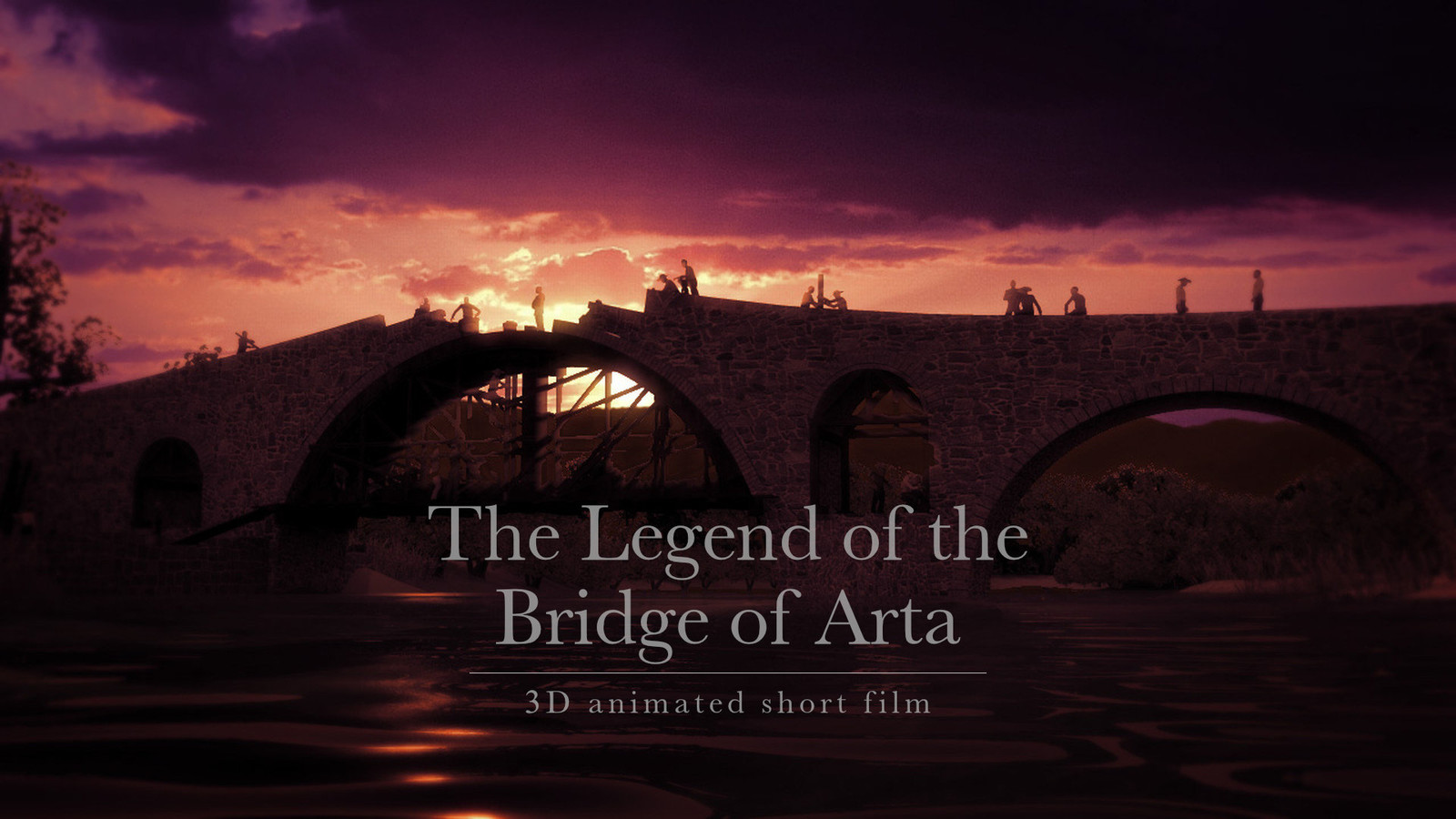 The Legend of Arta's Bridge (2014) - 3D animated short