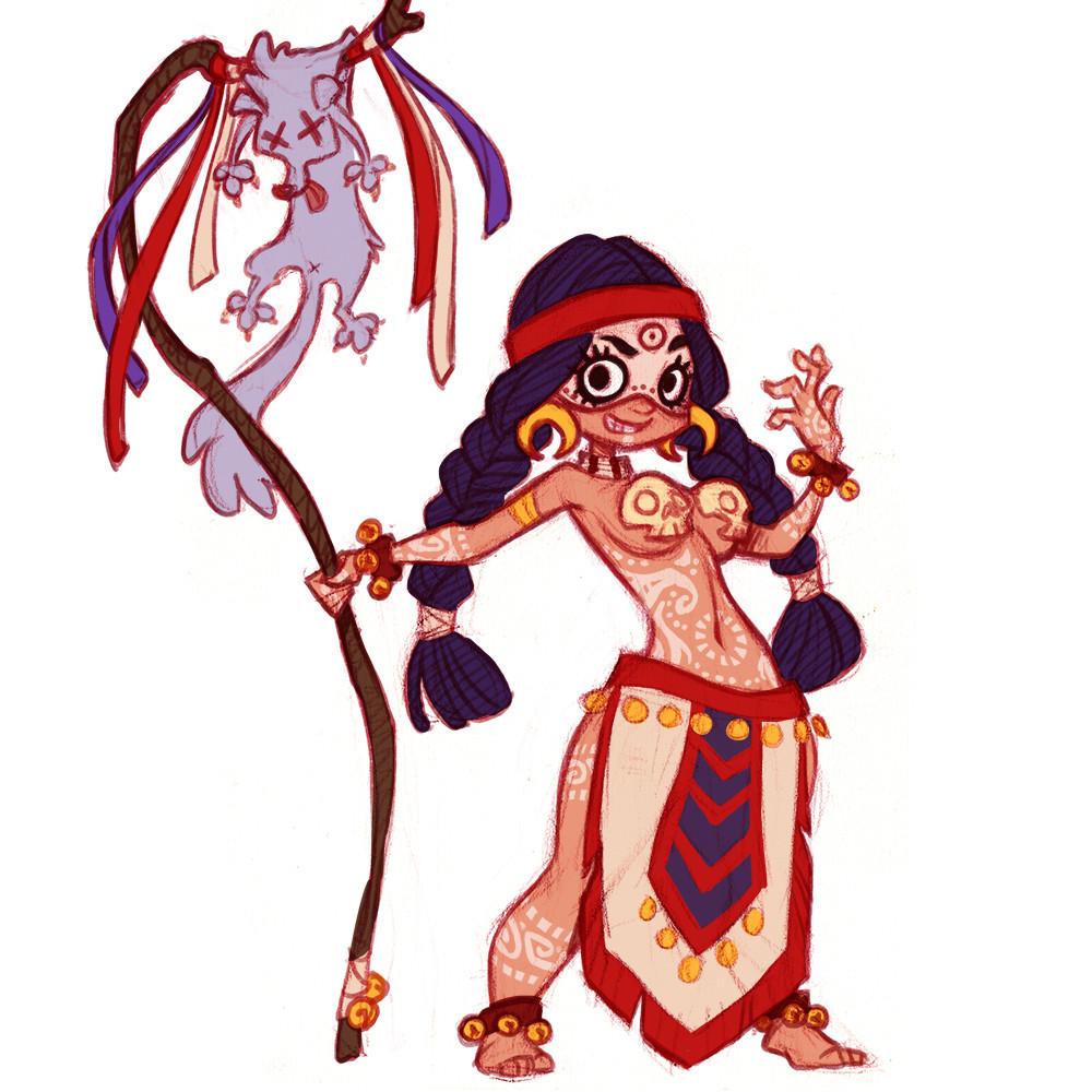 Shaman character exploration