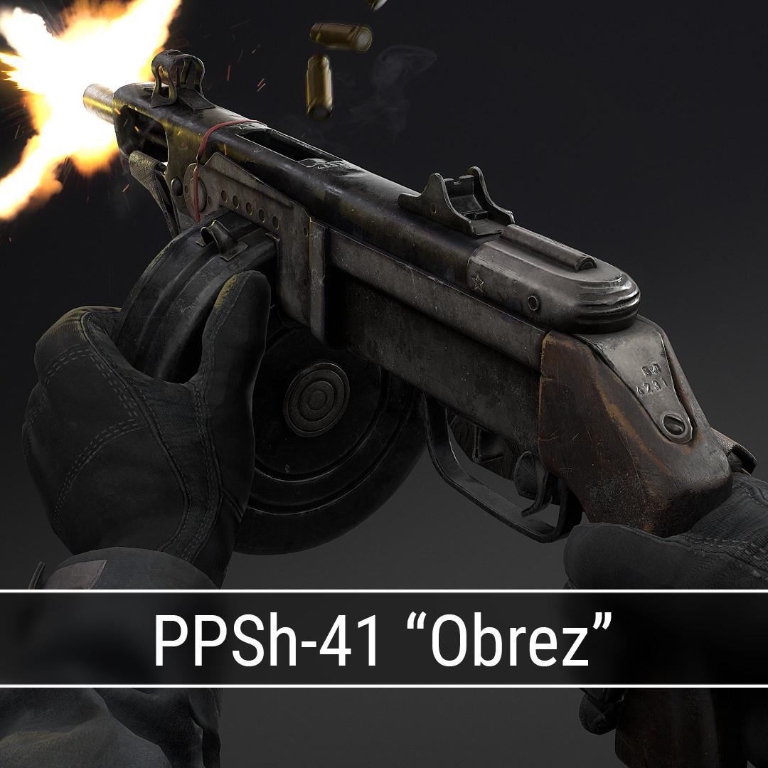 PPSh-41 Obrez