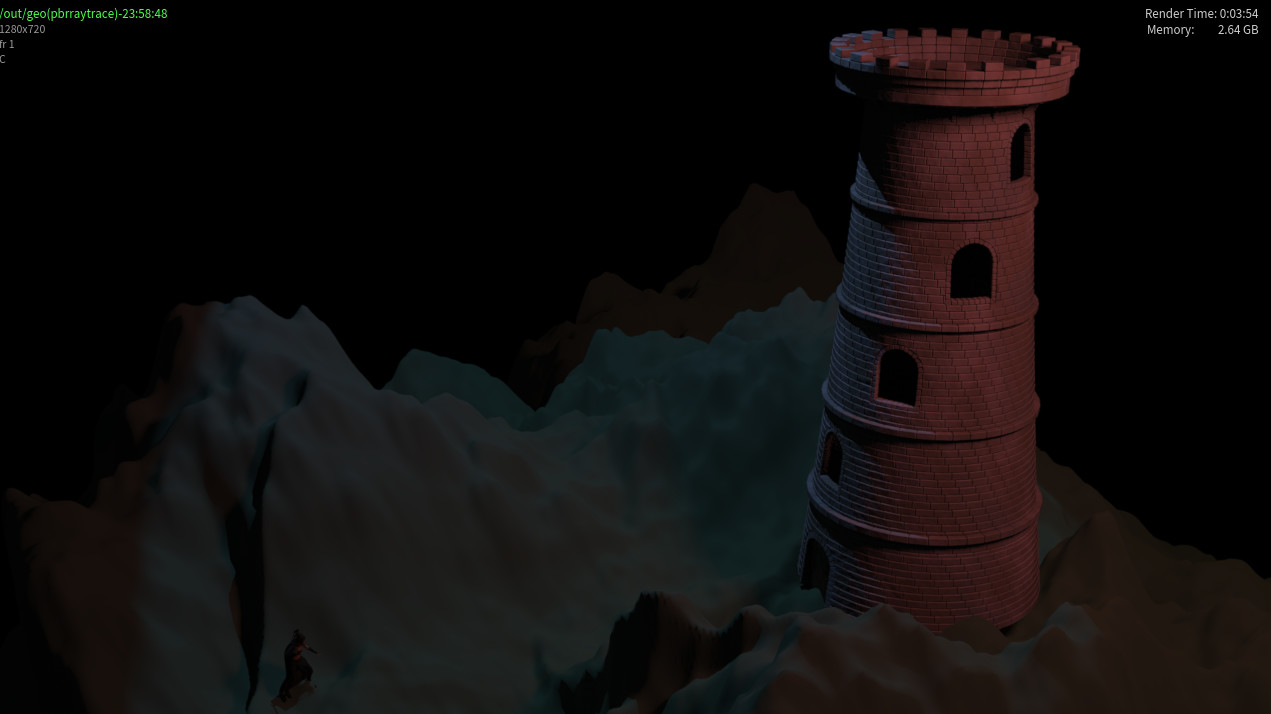 Procedural Modeling: Battle Tower