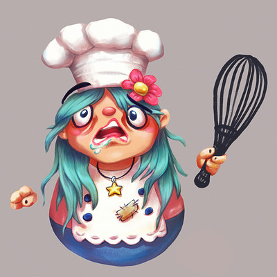 Rabid Chef - Overcooked 2 Fan Art