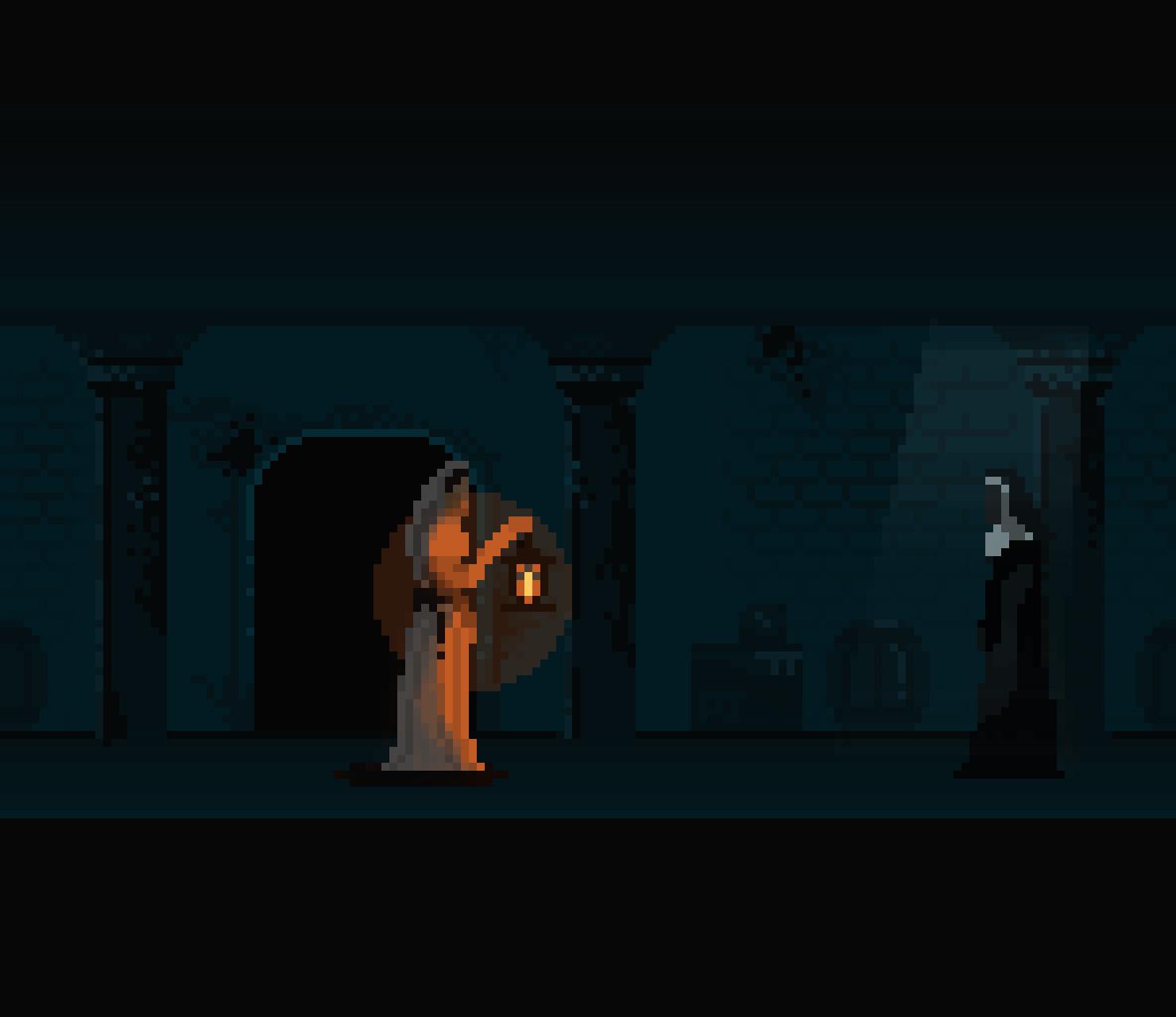 The Nun : Horror Game, Pixel Jeff