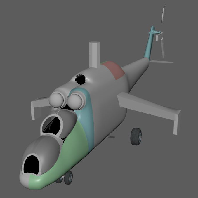 Mil Mi-35M -Hind E (WORK IN PROGRESS)