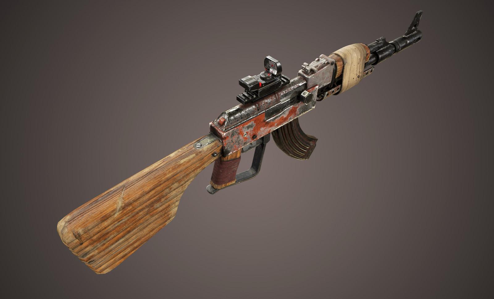 Post-Apocalypse AK - 47