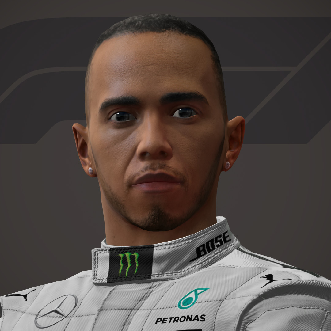 Lewis Hamilton UI tests