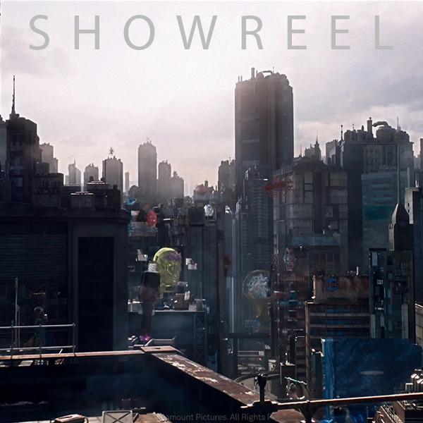 CG Environment Reel 2018