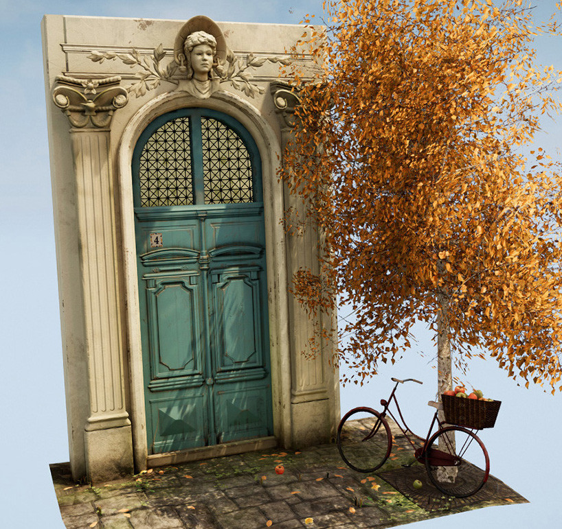 Paris autumn Diorama