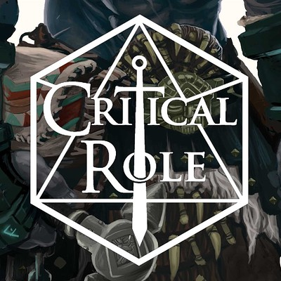 Chaim garcia critical role logo for grog artstation