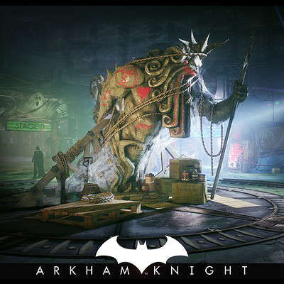 b9543508c04b1 Batman Arkham Knight - Panessa Studios - Hub Center