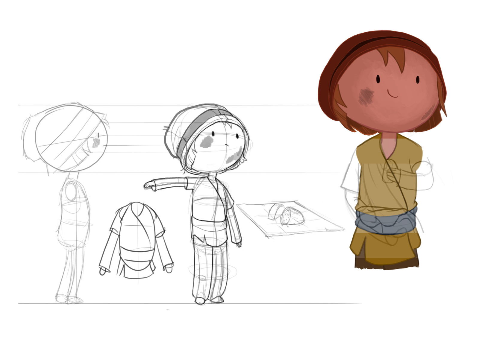 Character design for animation