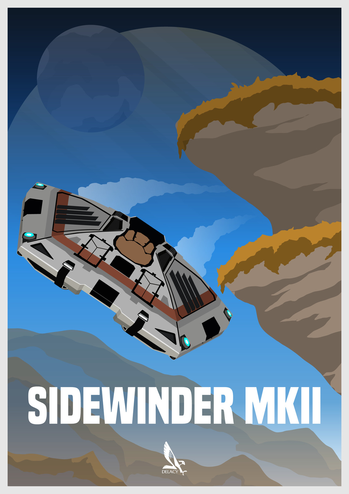 Elite Dangerous - Sidewinder MK II