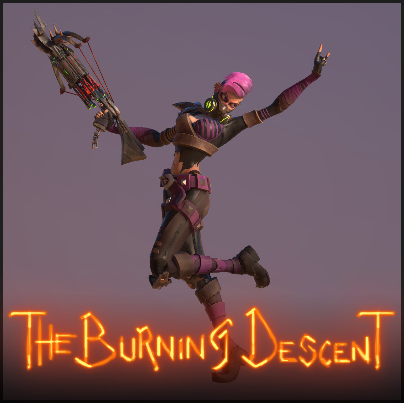 The Burning Descent | Psycho - Ashstrid