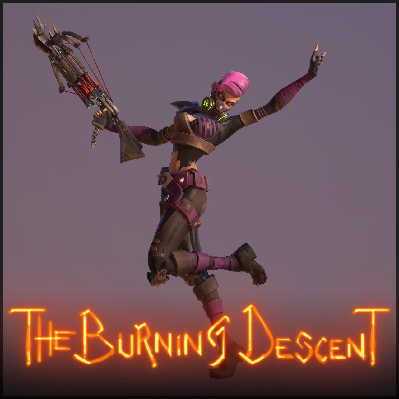 The Burning Descent | Psycho - Ashstrid