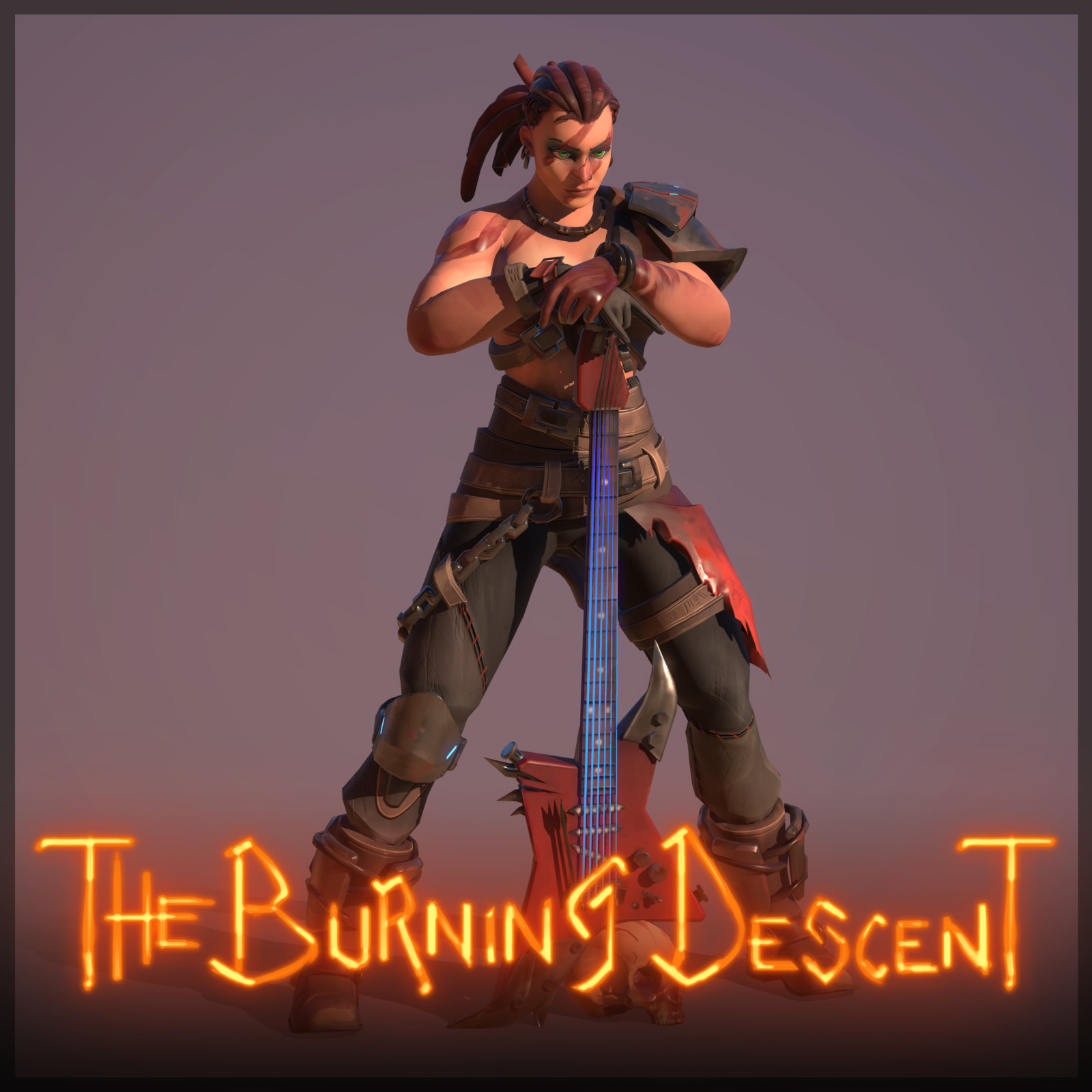 The Burning Descent | Barbarian - Reyna