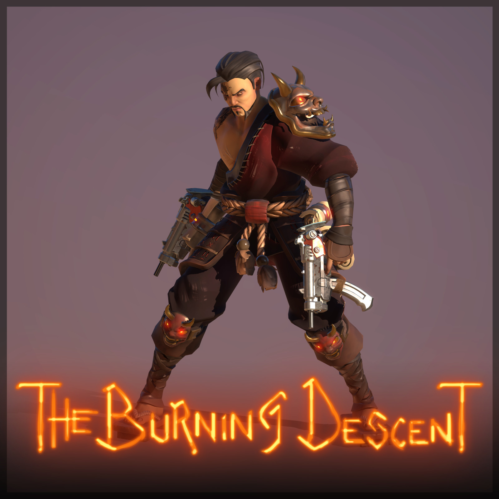 The Burning Descent | Ghost - SenPai'n