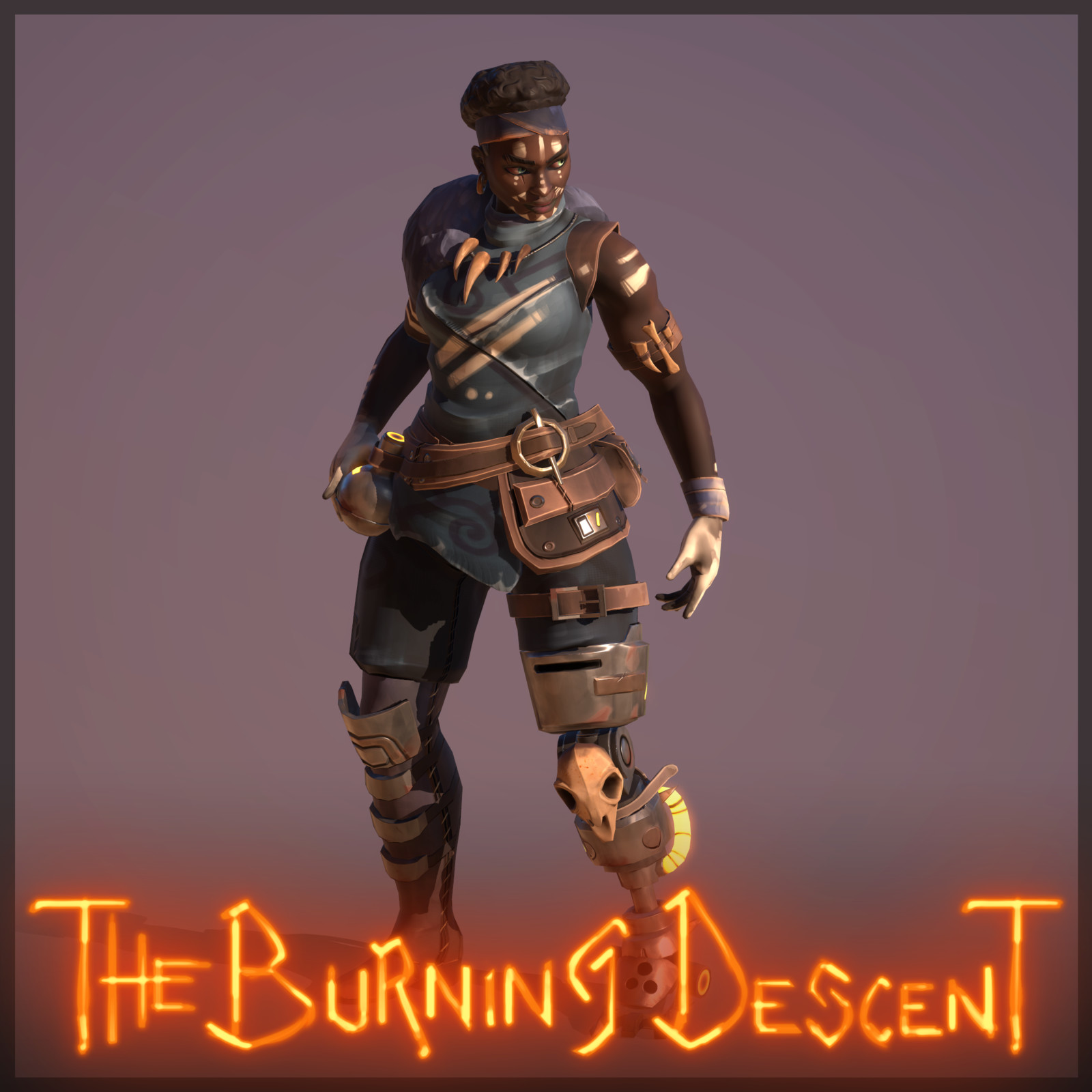 The Burning Descent | Scavenger - Vos'Kara