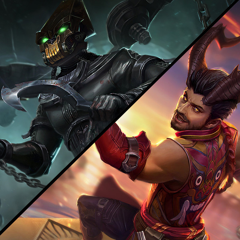 Vainglory: Reza and churnwalker