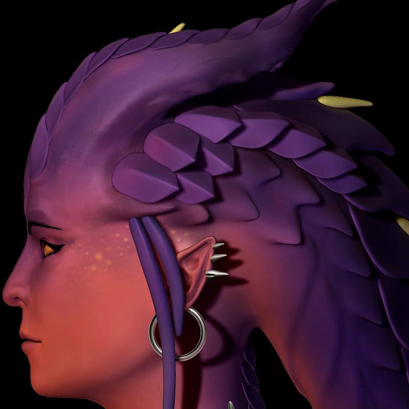 Dragon Symmetra: WIP