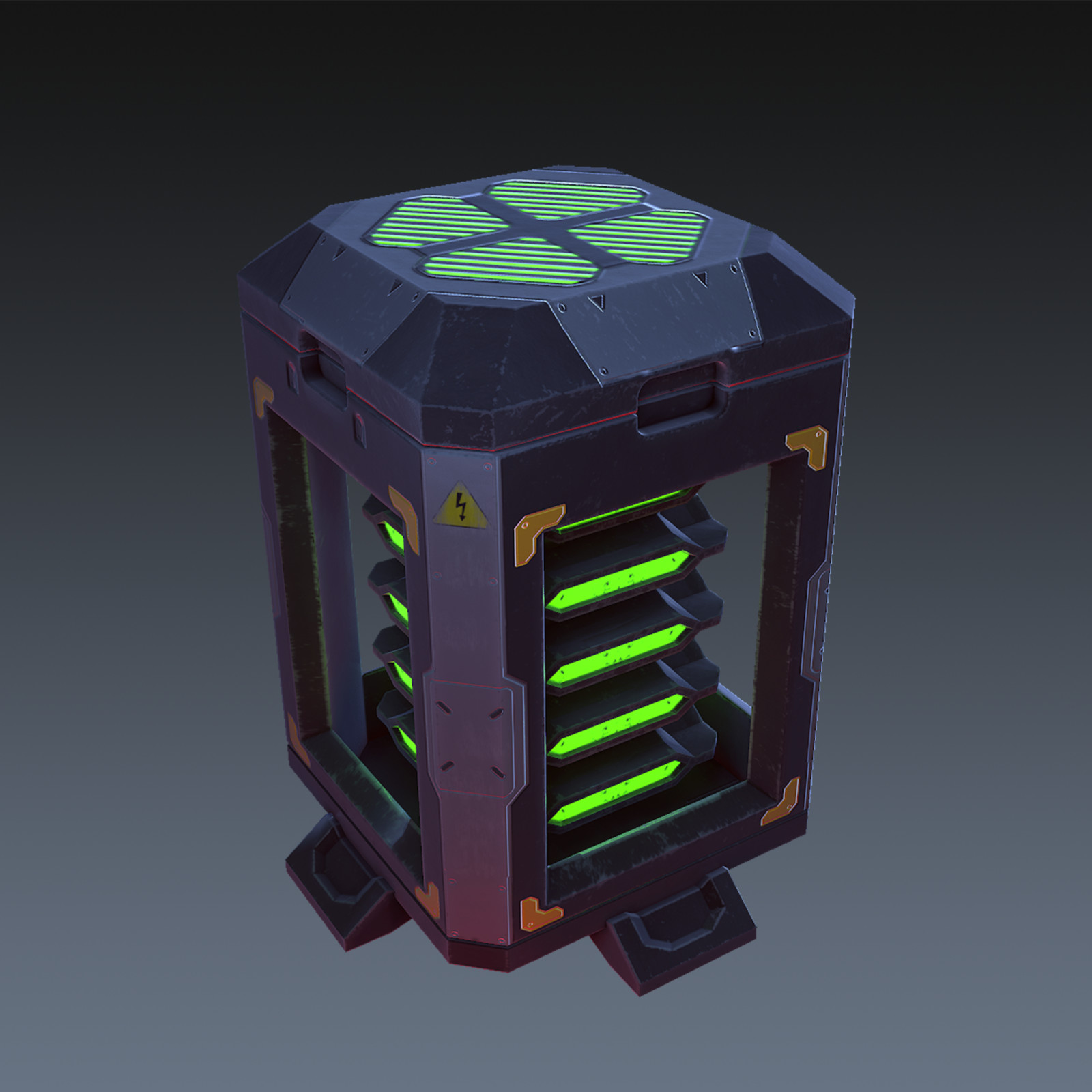 Sci-fi Battery from Titanfall Concept