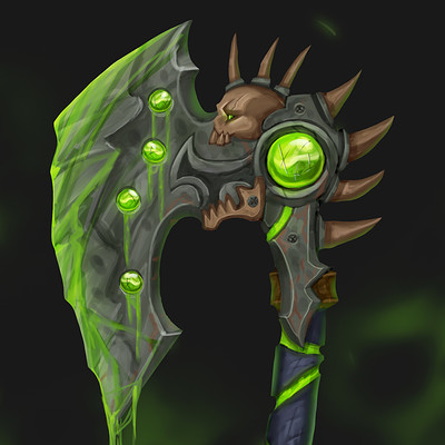 Yagiz kani concept weapons3 axe