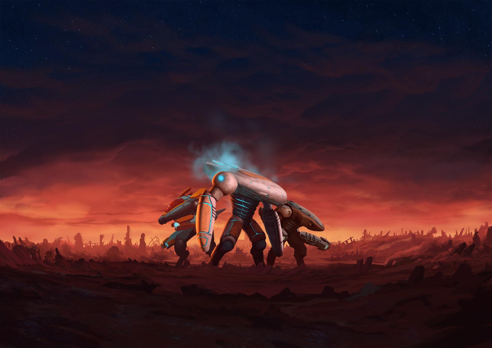 Defenders of Ekron, alternative cover art