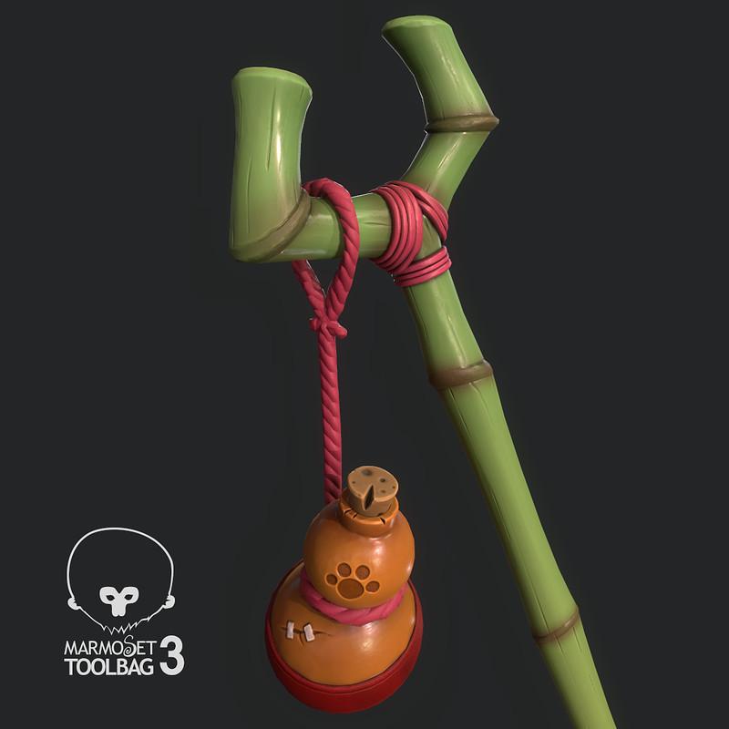 Bamboo Staff