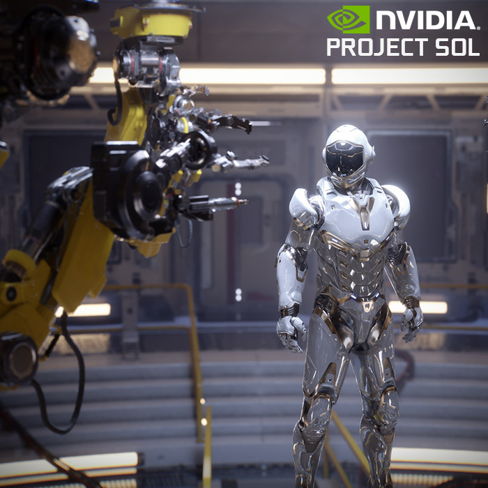 NVIDIA : PROJECT SOL - Art Direction and Design