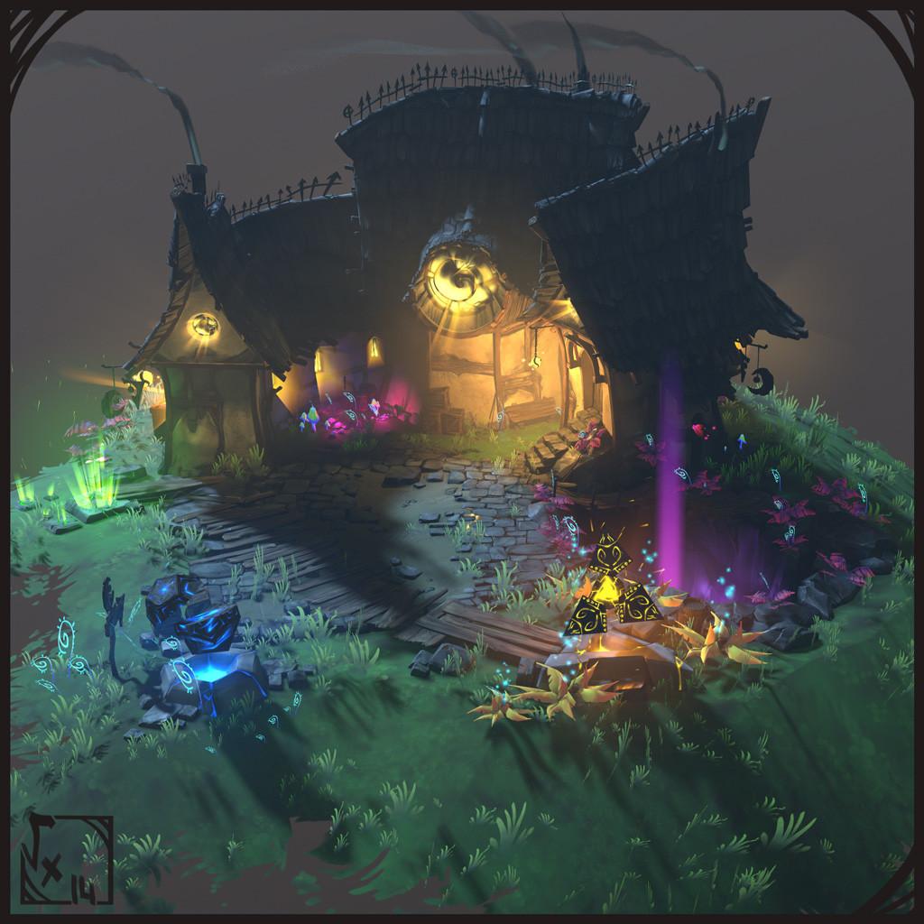 Arcanist's House