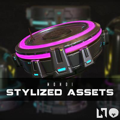 Nikolaos kaltsogiannis stylized assets mondi presentation thumbnail 01