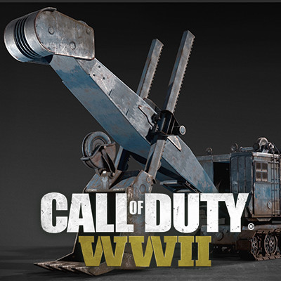 Call of Duty: World War II Mp Cannon Crane Vehicle