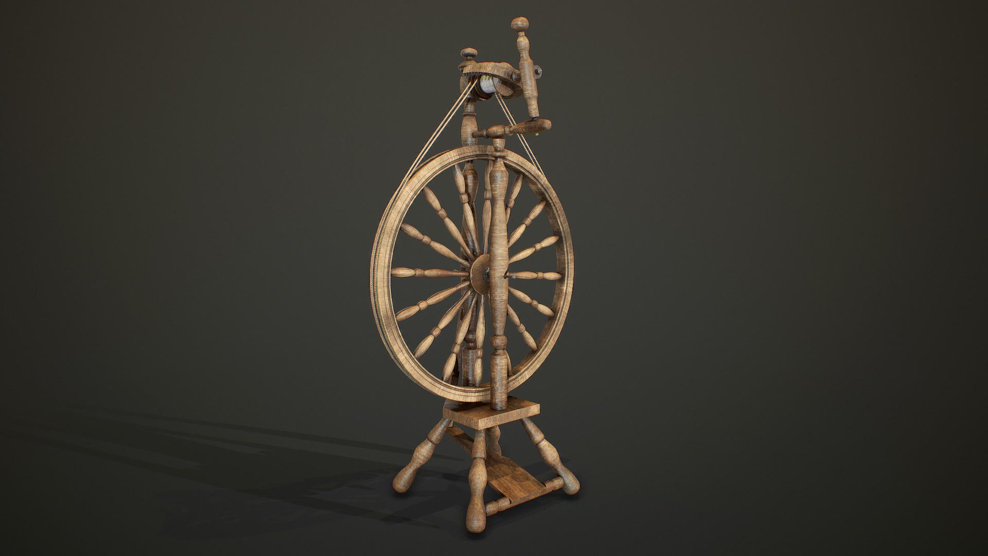 ArtStation - Spinning Wheel, Stepan Dolgopolov