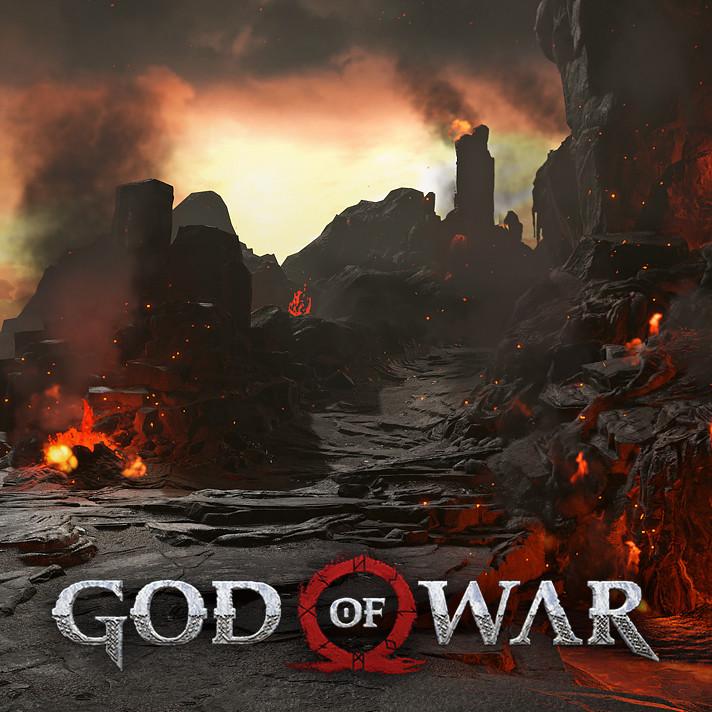 ArtStation - God of War: Muspelheim, Aenok Oh