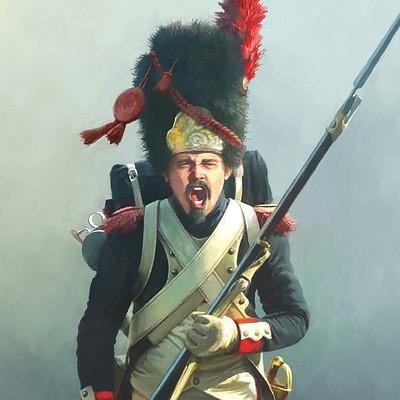 Rocio espin pinar french imperial guard
