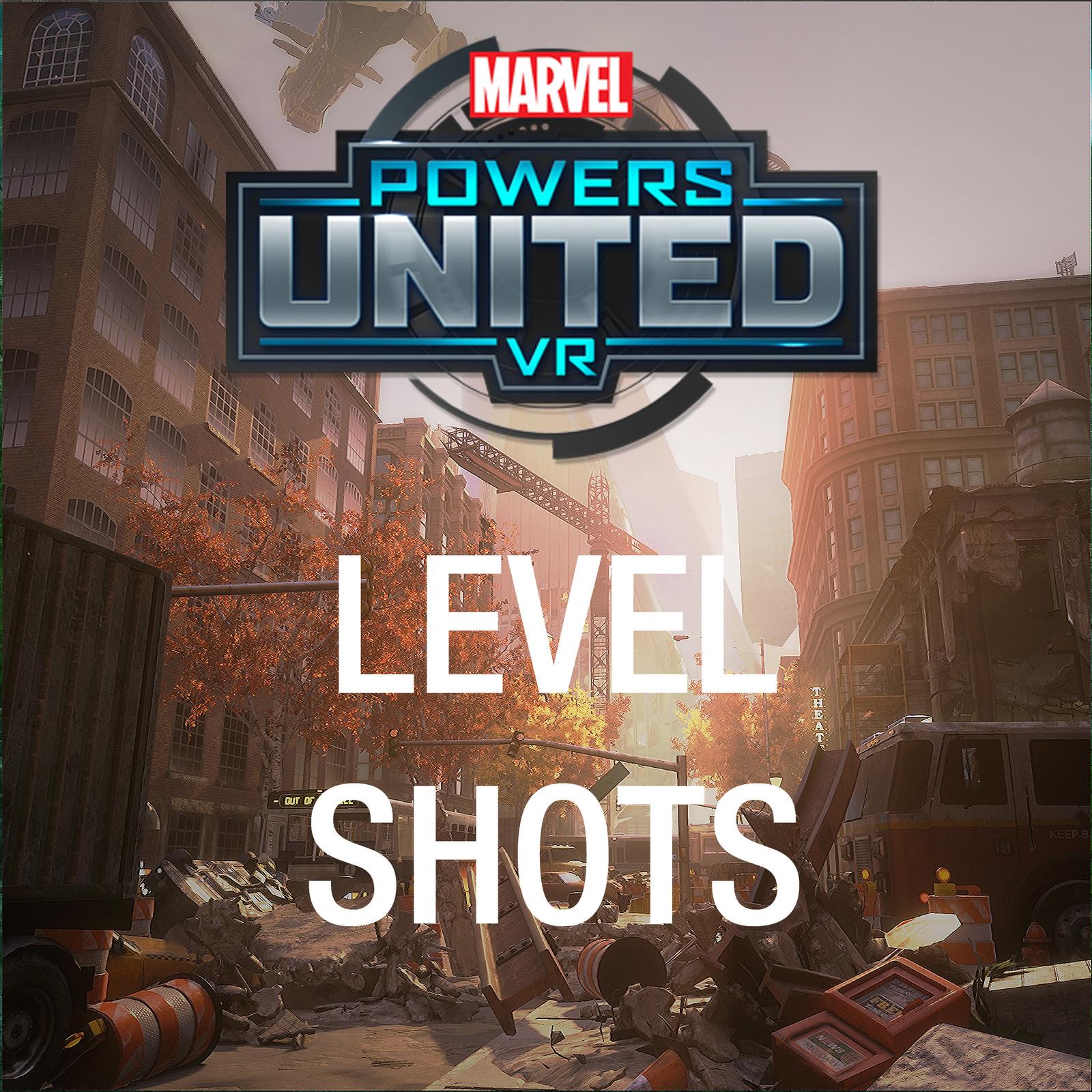Marvel: Powers United VR - Level Shots