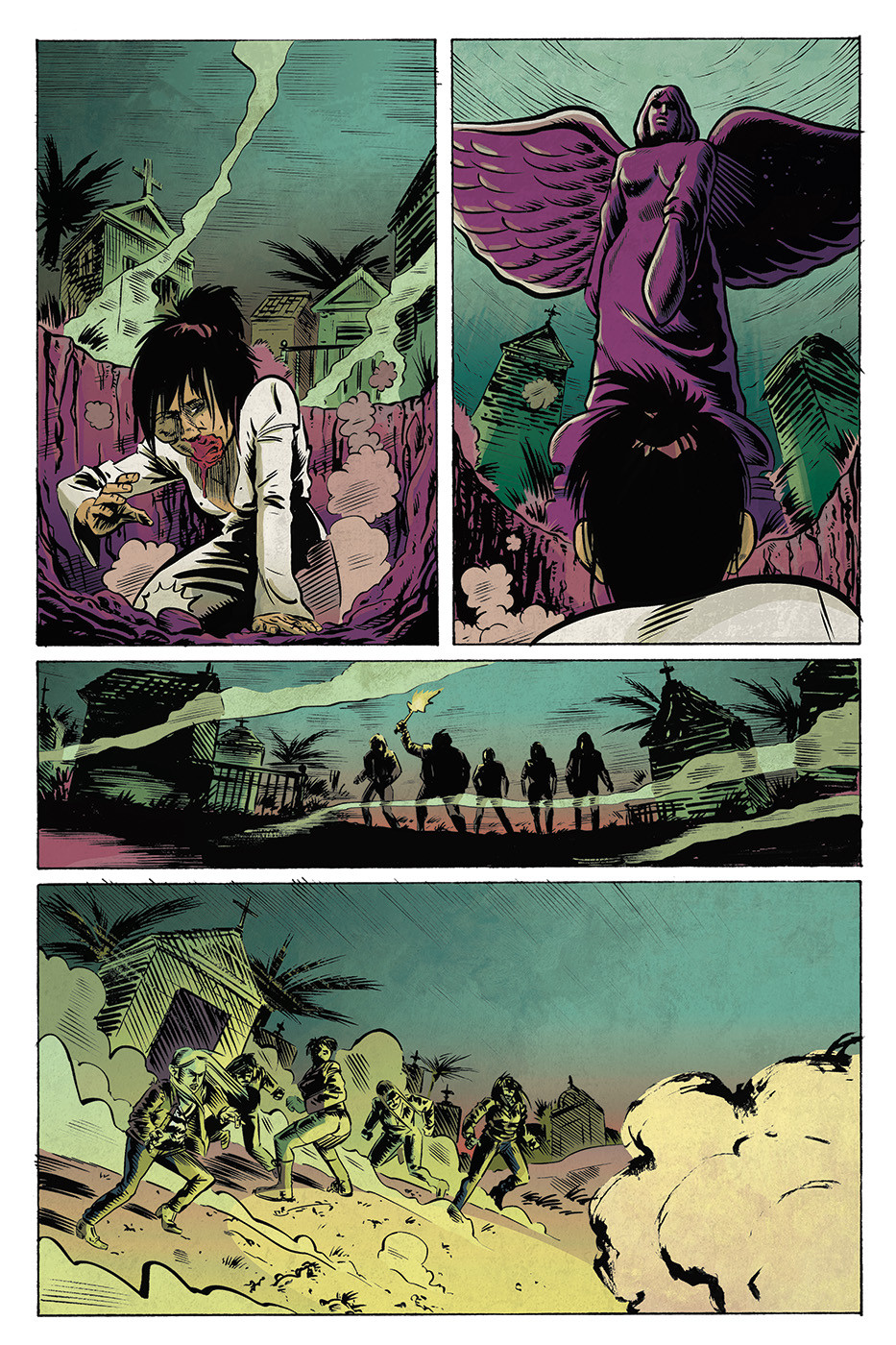 Grindhouse Fairytales Issue #1 - Colouring