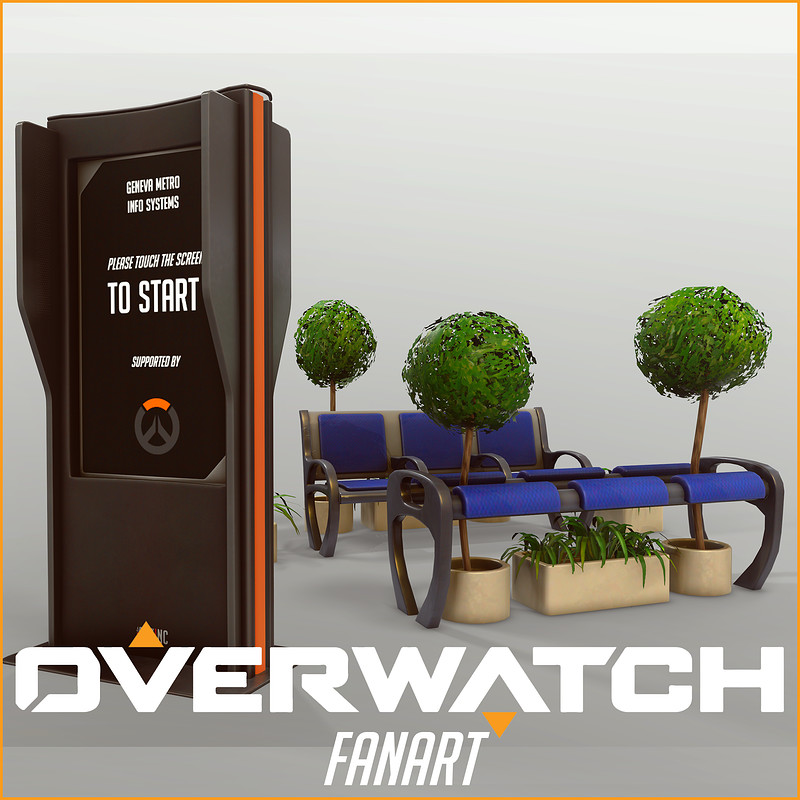 Overwatch Inspired Props [Fan Art]