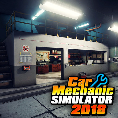 Car mechanic simulator 2018 - Garage environment