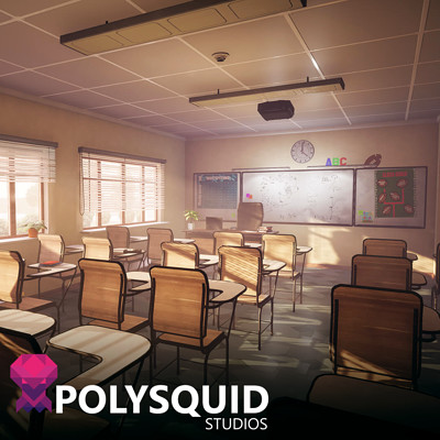 Poly squid school artst