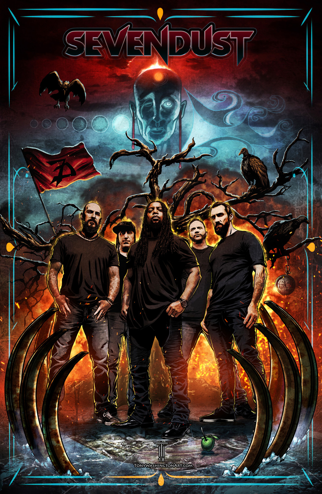 Sevendust Fan Art