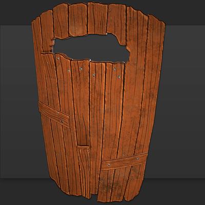 Brett murphy wood shield thumbnail