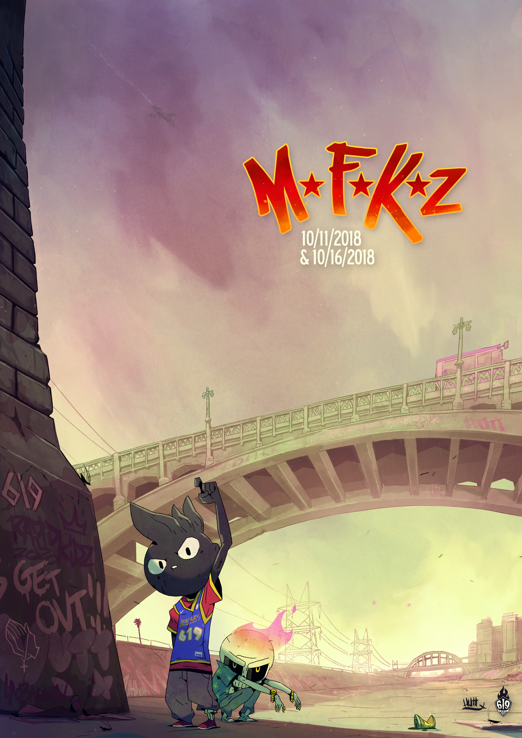 Artstation Mutafukaz The Movie Mtfkz Simon Hutt T