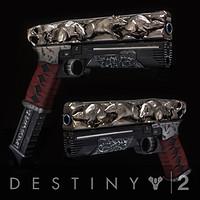 ArtStation - Destiny 2- Ace of Spades Ornament, Eric Newgard