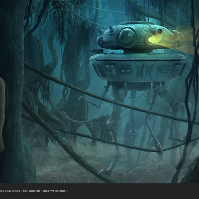 Dirk wachsmuth dirk wachsmuth probe droid on dagobah bydirkwachsmuth wfooter s