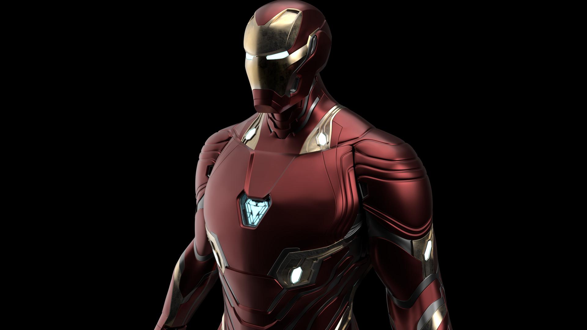 Emilio Lv Iron Man Mark 50