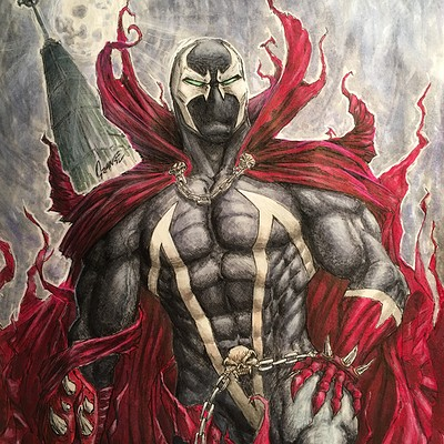 Spawn from Sketchbook