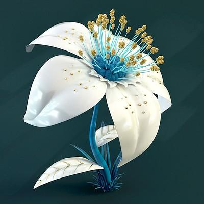 Bluewave flower