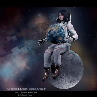 Gechunyi wang gechunyi wang gechunyi wang space suit 2018 whole comp