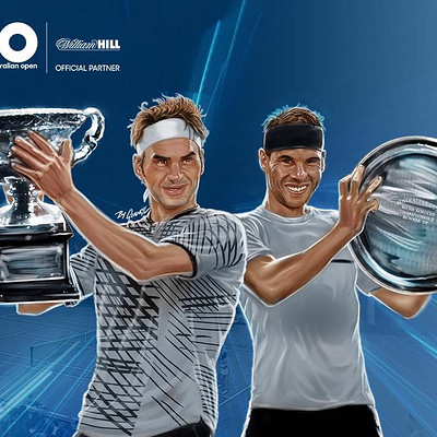 Australian Open 2017 - William Hill Players Portraits