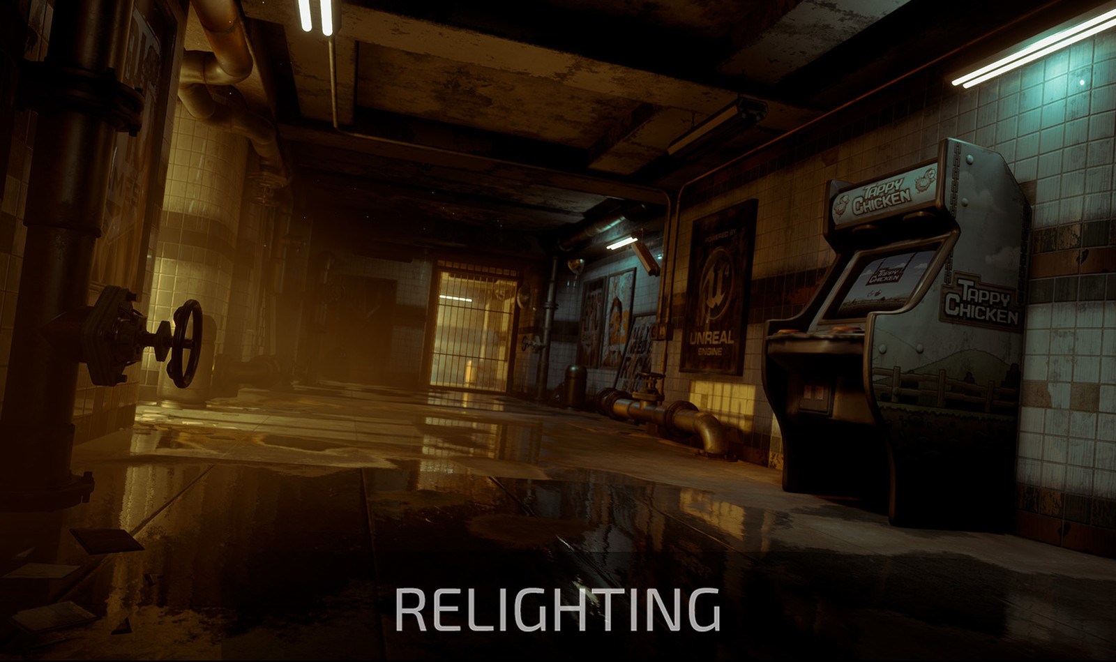 """Reflections"" cinematic relighting"