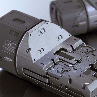 40 Sci-Fi Hard-Surface Assets for Concept Design